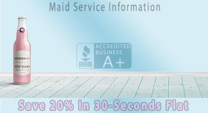 maid service info